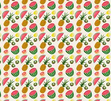 PINEapple WATERmelon by bbygreentea