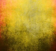 Abstract iPad Case Vintage Cool Colores New Grunge Texture by Denis Marsili