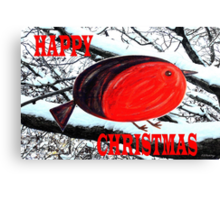 HAPPY CHRISTMAS 42 Canvas Print