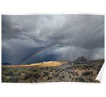 High Desert Monsoons Poster