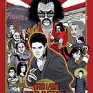 The Last Dragon Glow Movie Poster by agliarept