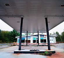 The Abandoned Gas Station by Nazareth