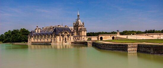 Chateau de Chantilly by John Velocci