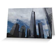 New World Trade Center, Lower Manhattan, New York City  Greeting Card