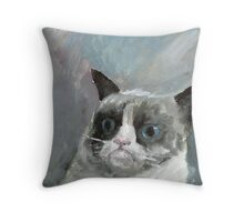 Srsly Throw Pillow