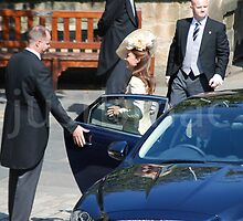 Kate's Arrival at Mike & Zara's Wedding by justbmac