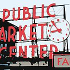 Pike Place Market by Nathan Jekich