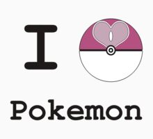 I Heart Pokemon by OnlyPaladin