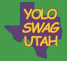 YOLO SWAG UTAH Kids Clothes