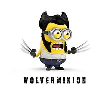 Wolverminion Phone case minion by William McFarlane