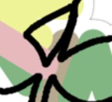 Bellsprout Splotch Sticker