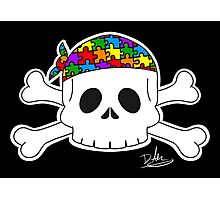 Autism Pirate Pride Photographic Print