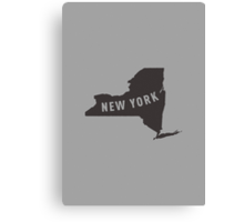 New York - My home state Canvas Print