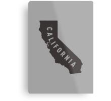 California - My home state Metal Print