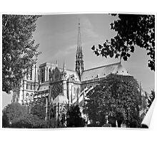 Notre Dame 3, Paris Poster