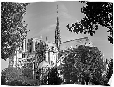 Notre Dame 3, Paris by Alex Cassels