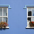 Windows in Dingle - Ireland by Arie Koene