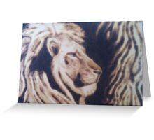 Lionking Greeting Card