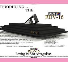 The 'Byteware' 'Rev-16' Vintage Print Ad by BytewareShop