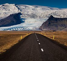 Rush Hour, Route One, Iceland by LJWPhotography
