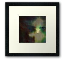Exclamation ( Towards J. ) Framed Print