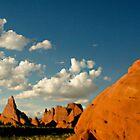 Desert Landscape Southern Utah by strayfoto