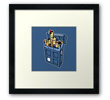 Doctor who cigarette Framed Print