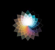 Fractal Lotus by clusterfunk