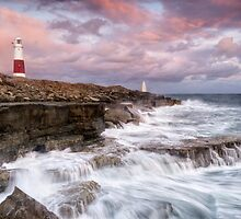 Autumn storms at Portland's Pulpit Rock by Chris Frost Photography