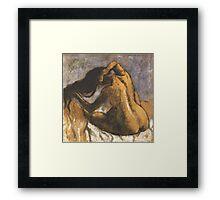 Edgar Degas French Impressionism Oil Painting Framed Print