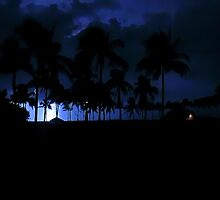 Lightning over the Gulf of Mexico pt. 2 by SDSPhotography