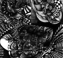 Ink Drawings 3. by - nawroski -