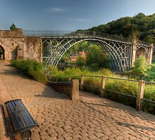 Iron Bridge Path by Adrian Evans