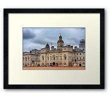 HORSE GUARDS PARADE - LONDON Framed Print