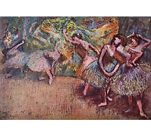 Edgar Degas French Impressionism Oil Painting Dancing Stage Photographic Print