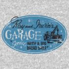 Ray & Irwin's Garage by superiorgraphix