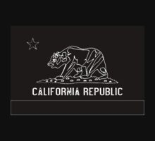 California Blackboard Chalk Outline by HighDesign