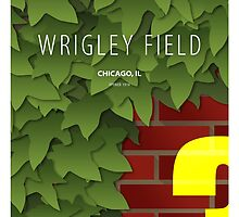 Minimalist Wrigley Field - Chicago by pootpoot