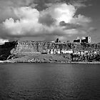The Imposing East Cliff, Whitby by Rod Johnson
