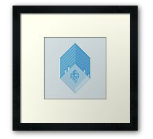 Wolfson Axonometric. Framed Print