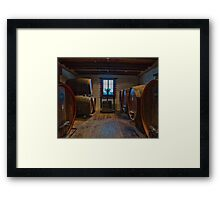 Red or White? Framed Print