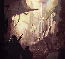 Wasteland Journey- Inside Iraxes by CarloReynolds