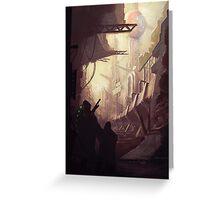 Wasteland Journey- Inside Iraxes Greeting Card