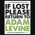 If Lost Return to Adam Levine by andirobinson