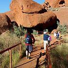 Koonya's cave - Uluru by gaylene