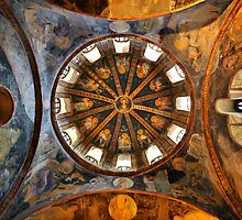 One of the domes in Chora church by Hercules Milas