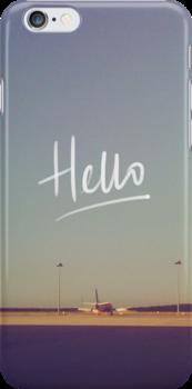 Hello Plane  by tayeichi