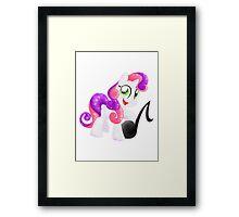 Crystal Sweetie Belle Framed Print