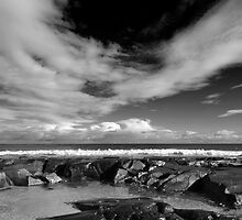 St Combs Beach, Aberdeenshire by Copperhobnob