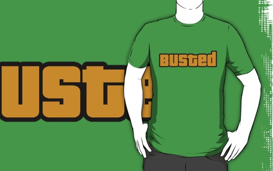 BUSTED - GTA by james0scott